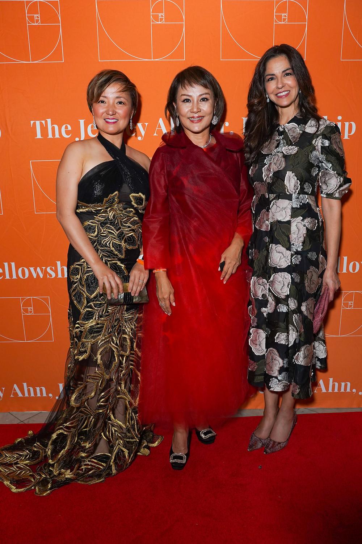 Board members Melissa Ko, Priscilla Ahn, Dayssi Olarte de Kanavos