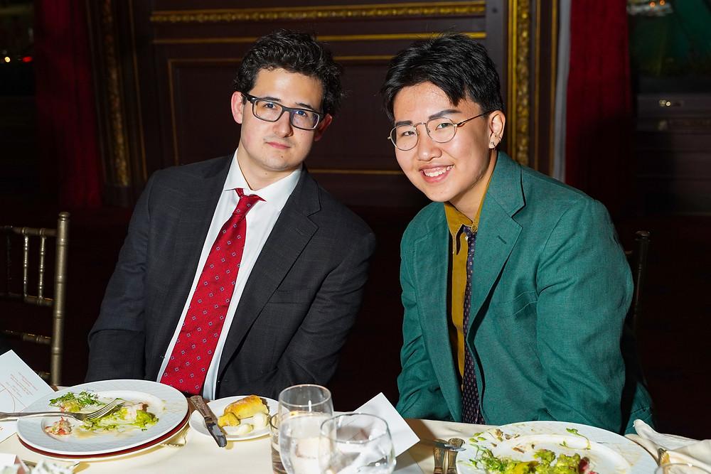 2016 Jeffrey Ahn, Jr. Fellow, Richard Medina, 2018 Jeffrey Ahn, Jr. Fellow, Rivers Liu