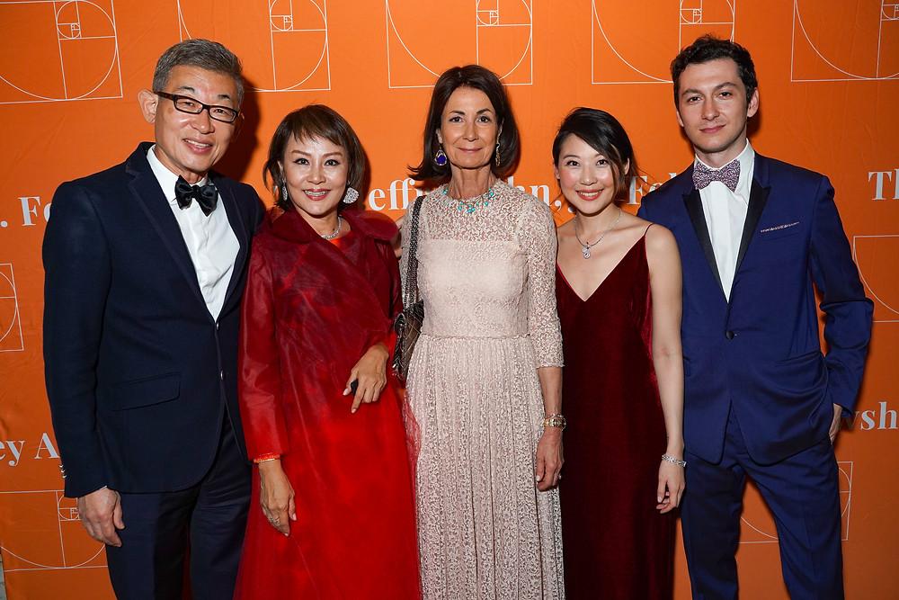 Jeffrey Ahn, Priscilla Ahn, Valérie Breton, Presca Ahn, Alexandre Breton