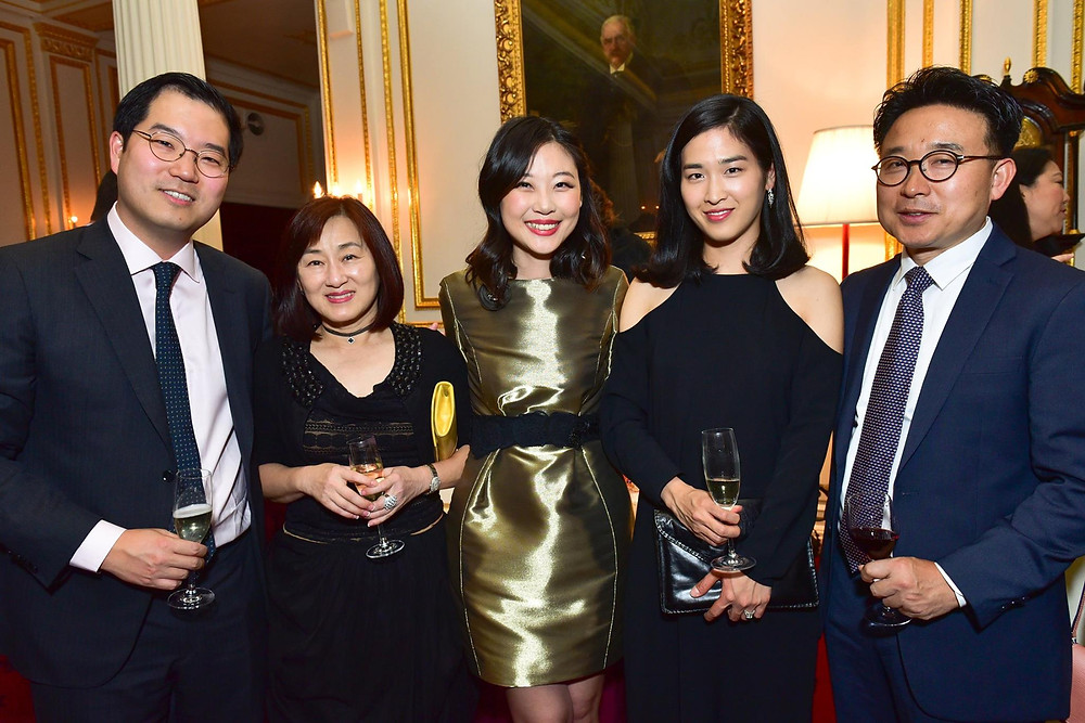 Michael Chung, Margarette Lee, Presca Ahn, Hajin Chung, Ik-Joong Kang
