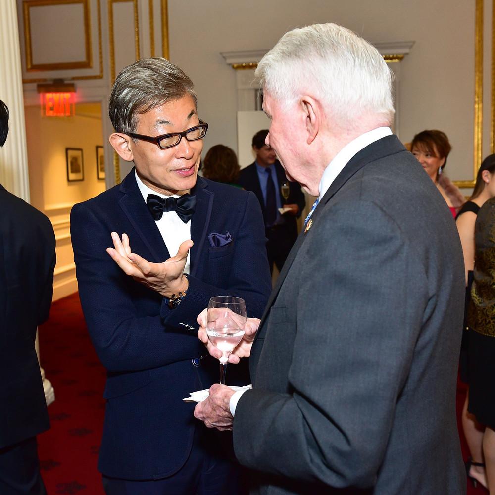 Dr. Jeffrey Ahn with Joseph Murphy
