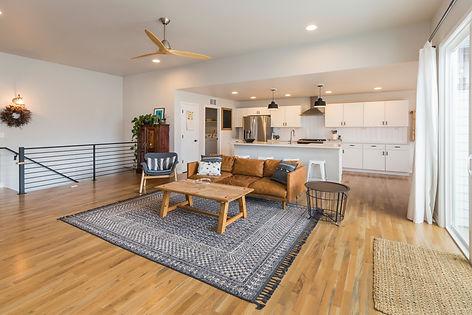 Modern Farm House Open Concept Living Sp