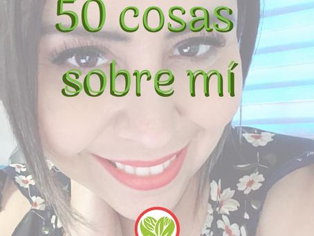 50 cosas sobre mí