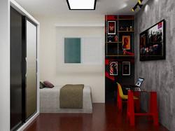 🔸Projeto Dormitório Solteiro
