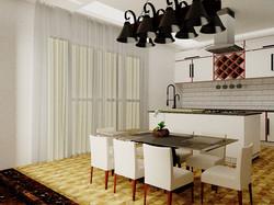 🔸Projeto Cozinha integrada com Sala de Jantar