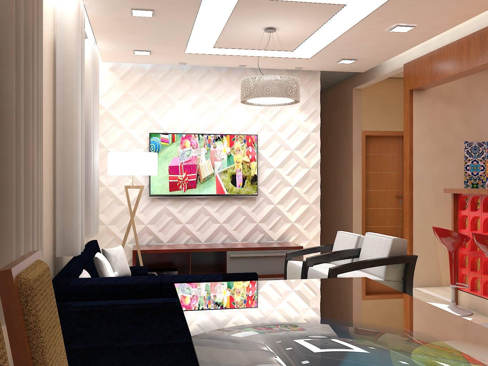 🔸 Projeto Sala de Estar e Jantar