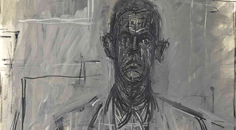 James Lord by Giacometti, 1964