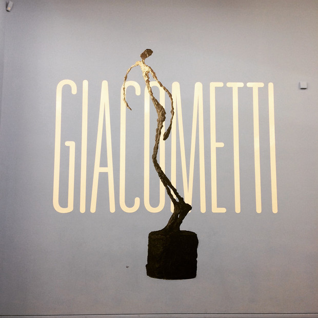 The healing in the relational and creative space, Giacometti