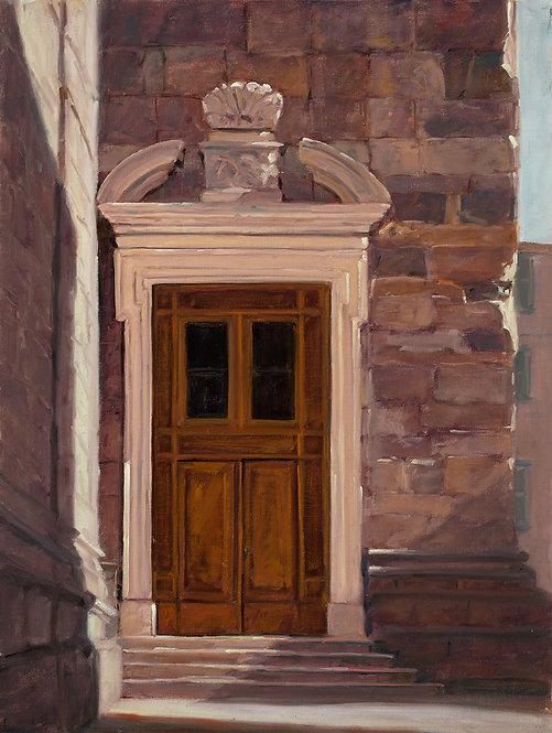 Bergamo Church Door