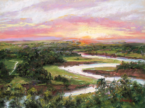 Sunrise Over Mara River