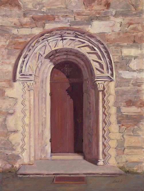 Church Door Norway