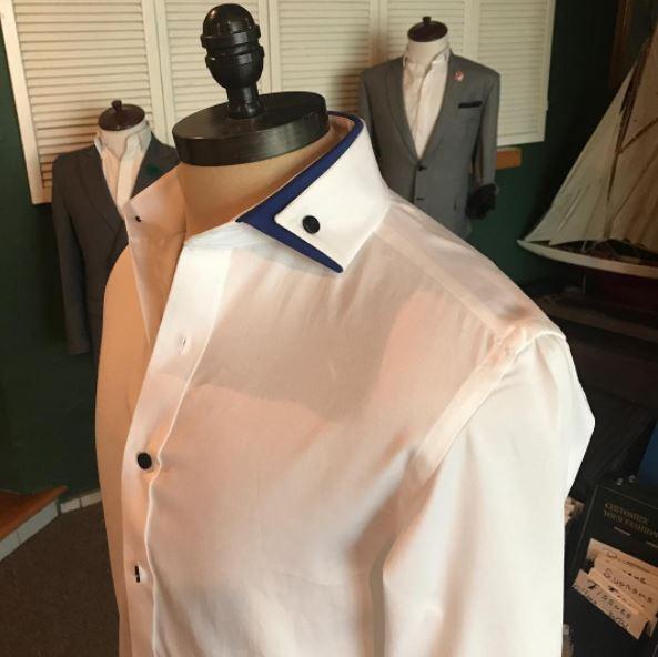 Camisa a la Medida Blanca Cuello A