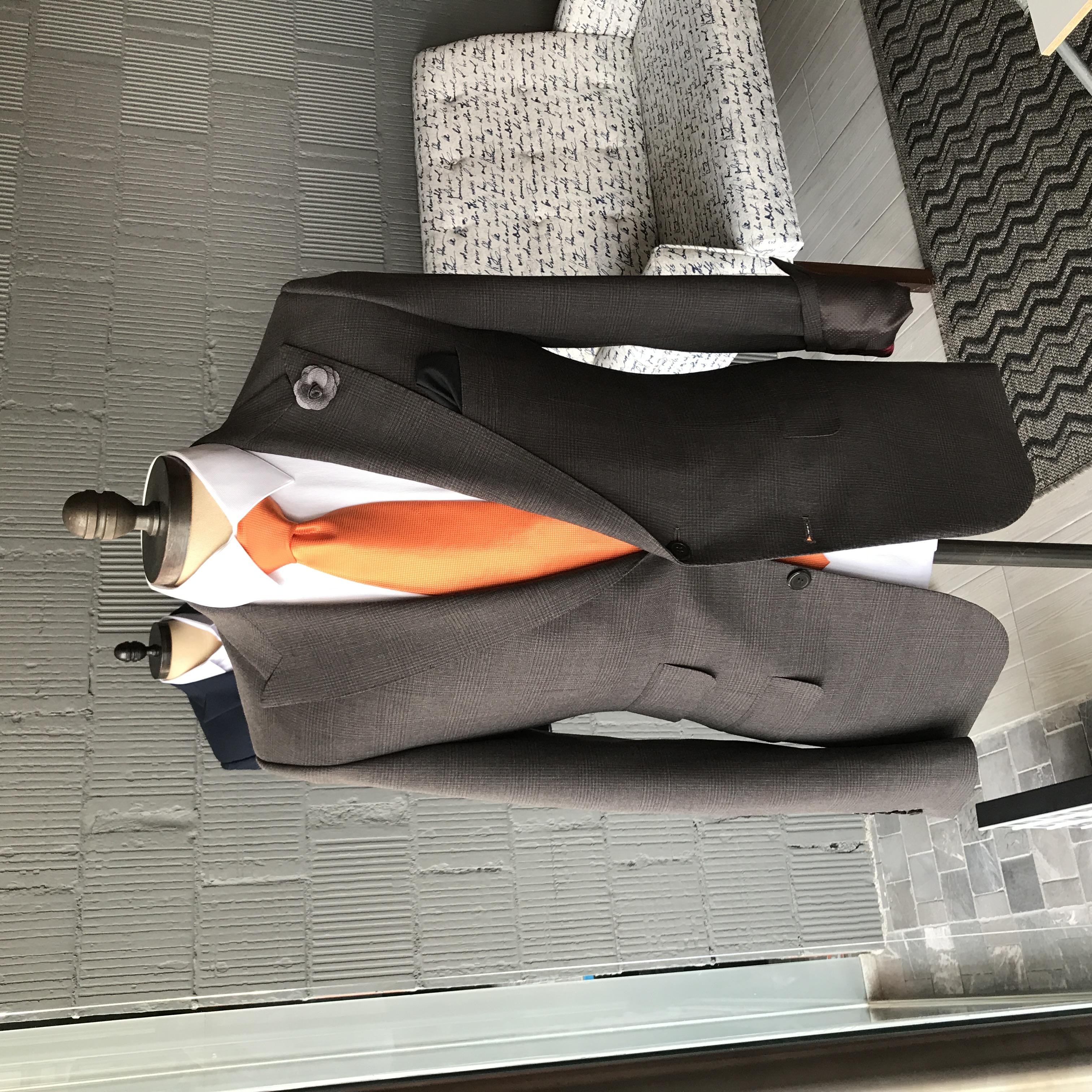 Saco con corbata