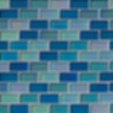 Iridescent-Blue-Blend-Glass-Brick-Patter