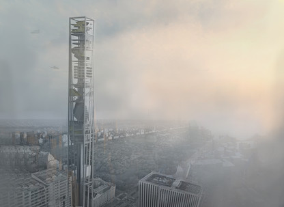 VERTICAL CITY FOR NEW YORK