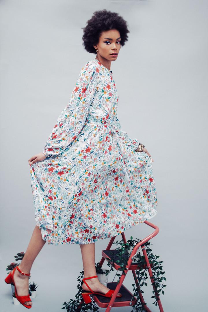 Dress: Fresha London  Shoes: Gianvinto Rossi