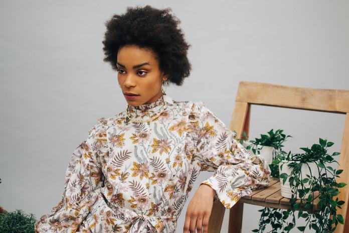 Dress: Scotch and Soda Earings: Pandora Necklace: Tohum Design