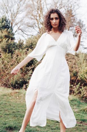 Dress: Luisa Cerano