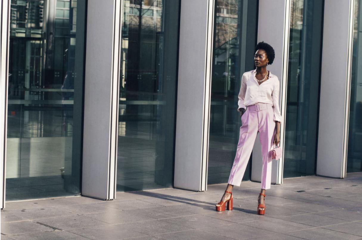 Top: Zavi Pants: Zara Shoes: Malan Breton Accesories: The Hirst Collection