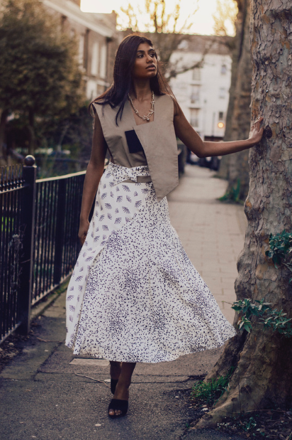 Top: A Jane Skirt: Luisa Cerano