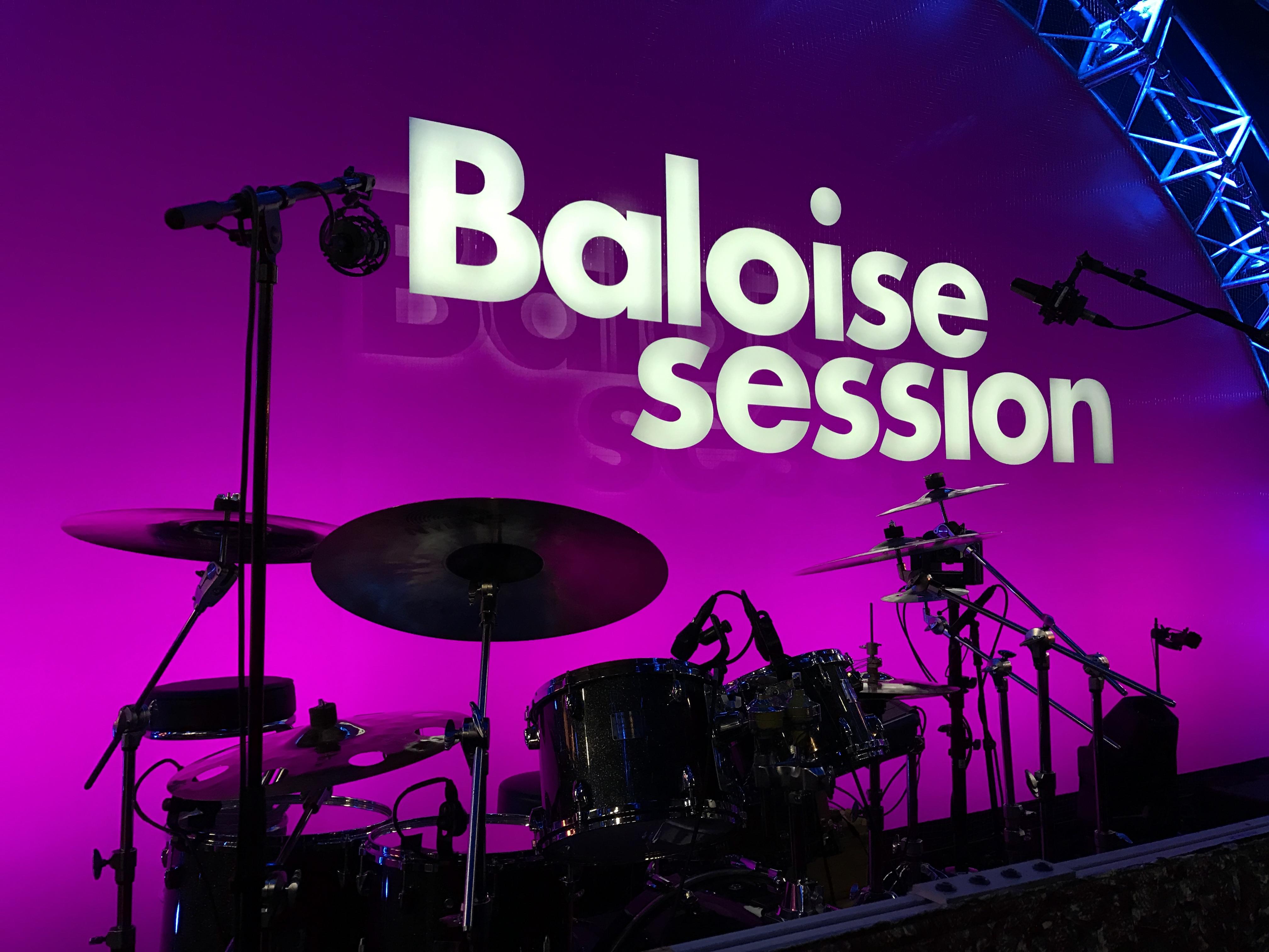live baloise drums