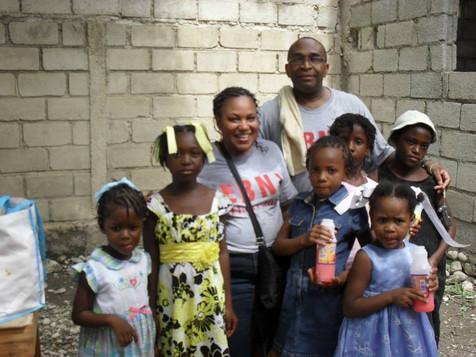 Visite d'une église à Arcahaie