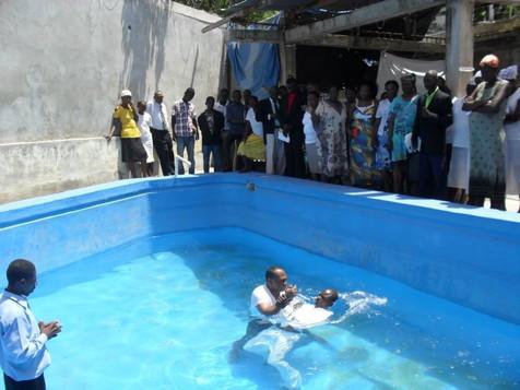 Cérémonie de baptème