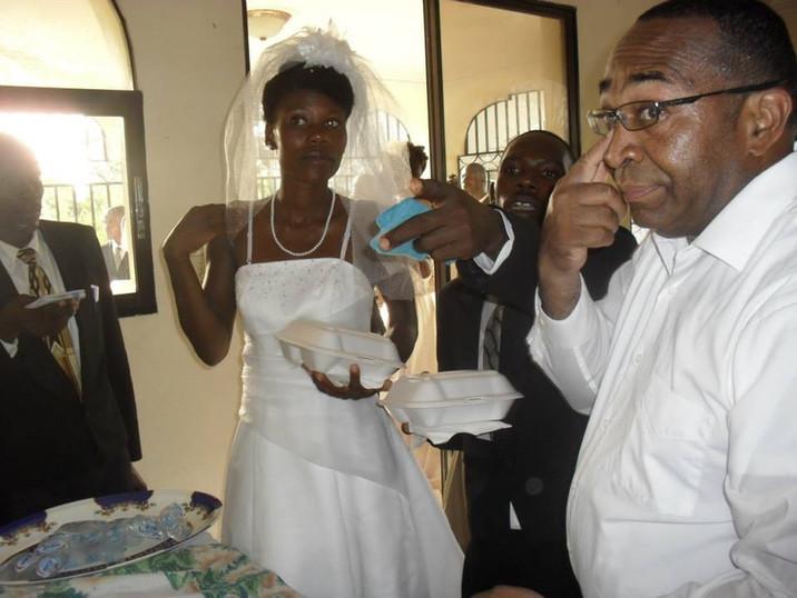 Mariage de certains couples de l'église