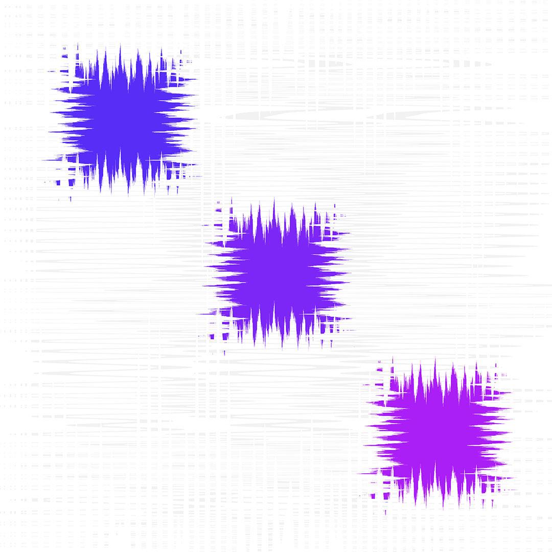 """Electron -  40""""x40"""" (102x102 cm)"""