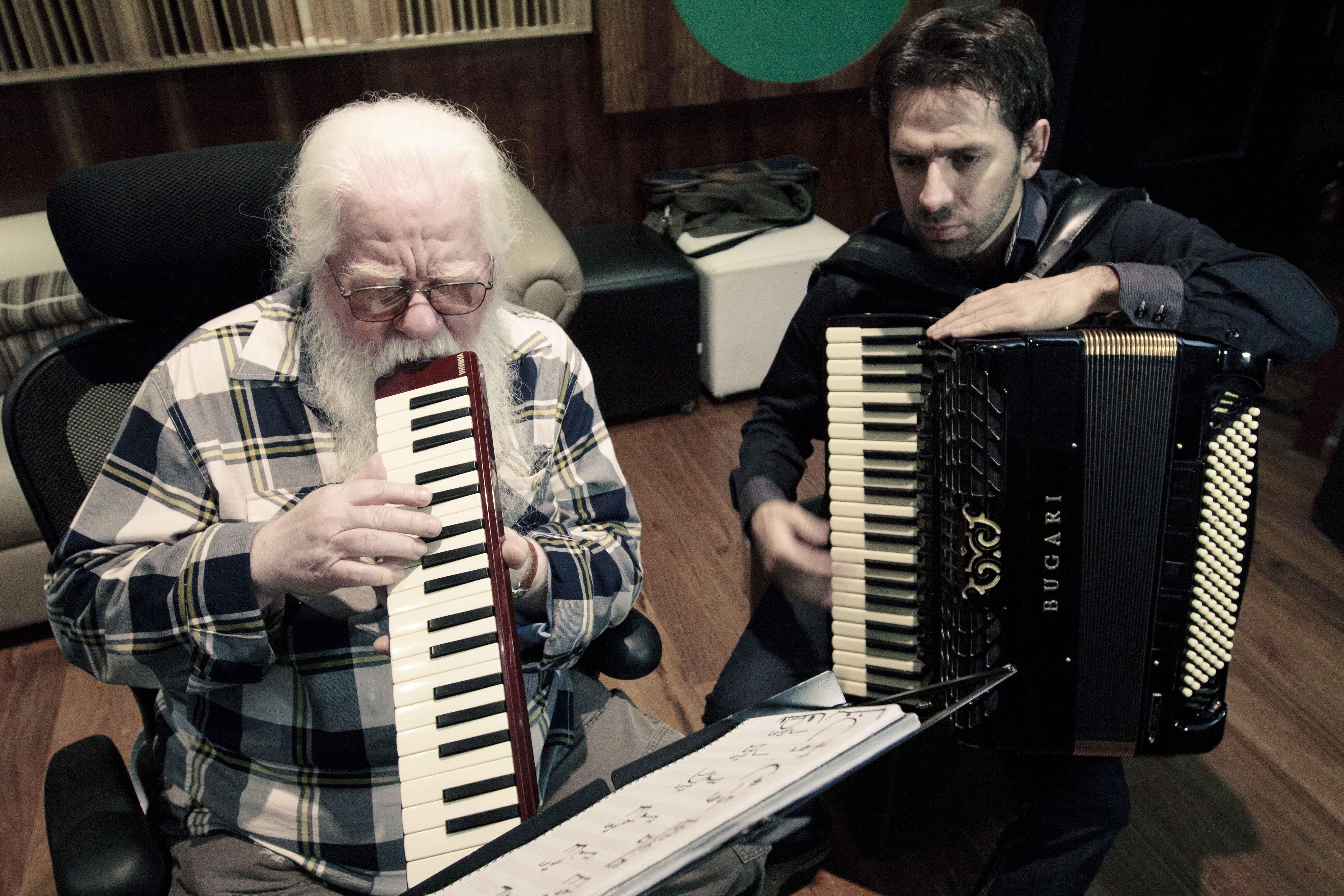 Gravação Universalizando o acordeon