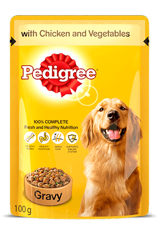 Pedigree Gravy Adult Chicken and Vegetables