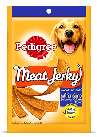 Pedigree Care and Treats Adult Meat Jerky Barbeque Chicken