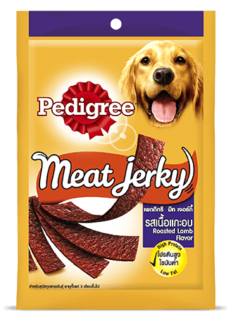 Pedigree Care and Treats Adult Meat Jerky Lamb