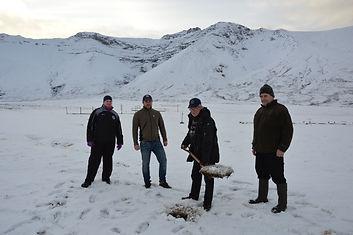 22.02.2017 - Stjórnarfundur - Skóflustun