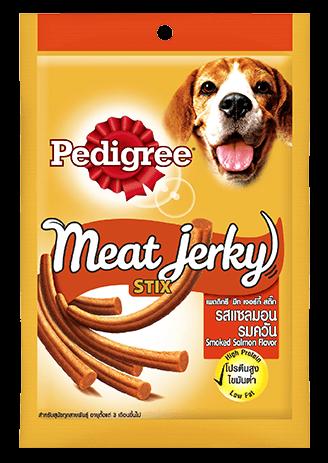 Pedigree Care and Treats Adult Meat Jerky Stix Smoked Salmon