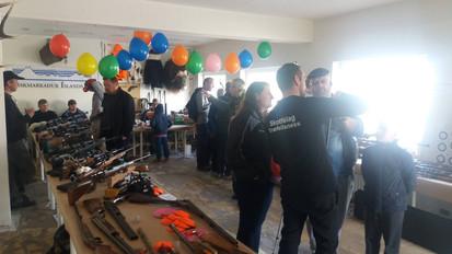 Skotvopnasýningin 2017 í Ólafsvík - Heið