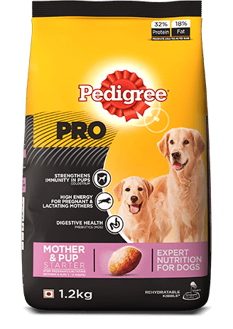 Pedigree Professional Starter Mother and Pup