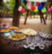 catering, cumpleaños de niños, saludable