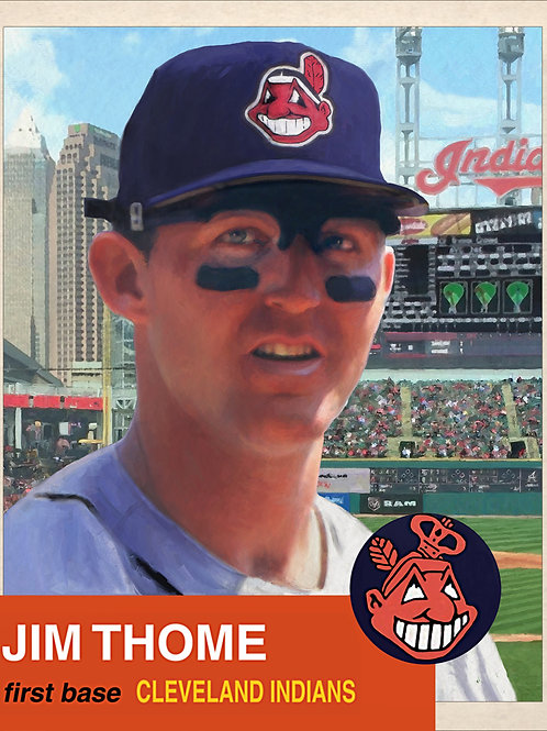 Jim Thome - 1947 replica player card (Print)