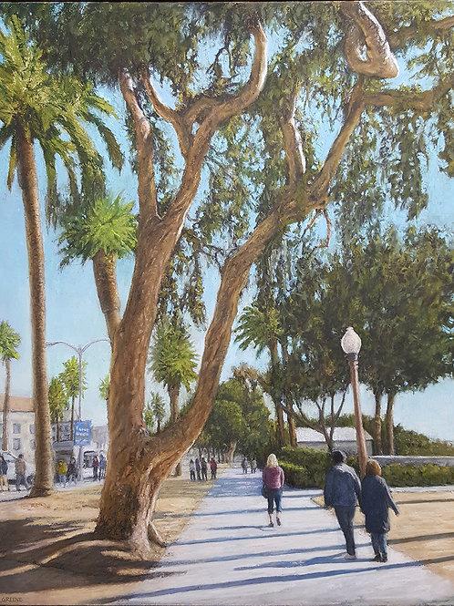 A Winter's day in Santa Monica