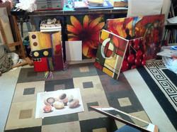 Misc studio art