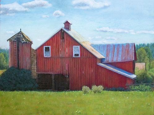 'Old barn in Fall City, WA'