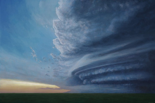 A supercell approaches (Print)