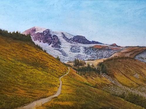 Mt Rainier (in the Fall)