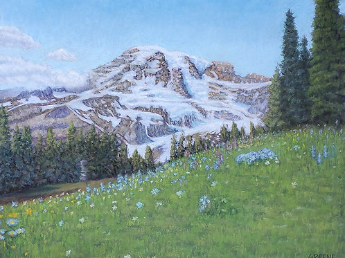 'Spring bloom in the Pacific Northwest'