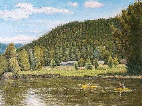 'Along the Wenatchee River (Leavenworth, WA)'