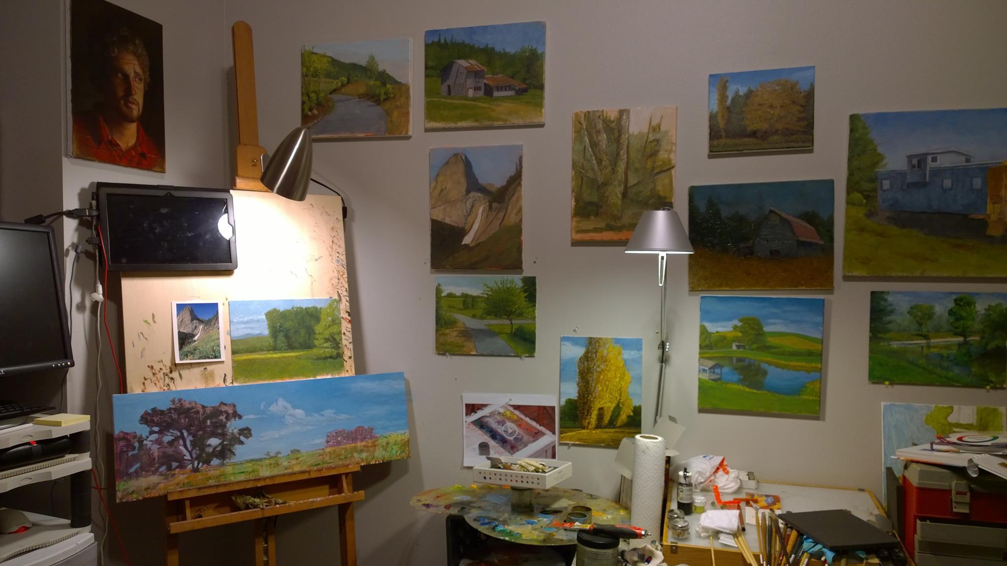 Home studio - WIP