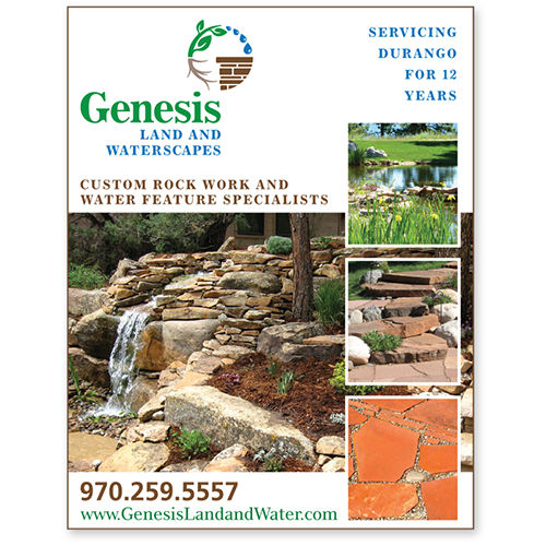 Genesis Land and Waterscapes Print Design