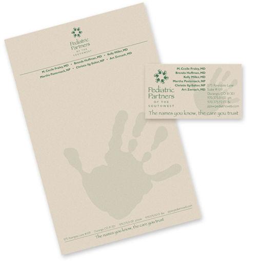 Pediatric Partners Print Design