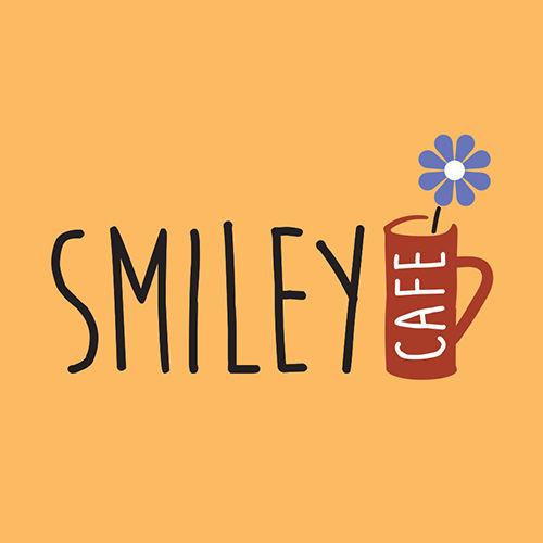 Smiley Cafe Logo Design